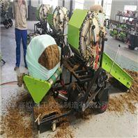 黄储秆回收机 皇竹草秸秆揉碎捡拾包膜机