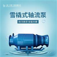 应急排水设备QXB雪橇式潜水轴流泵