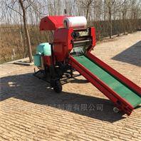干湿玉米秸秆青储打包机 全自动牧草包膜机