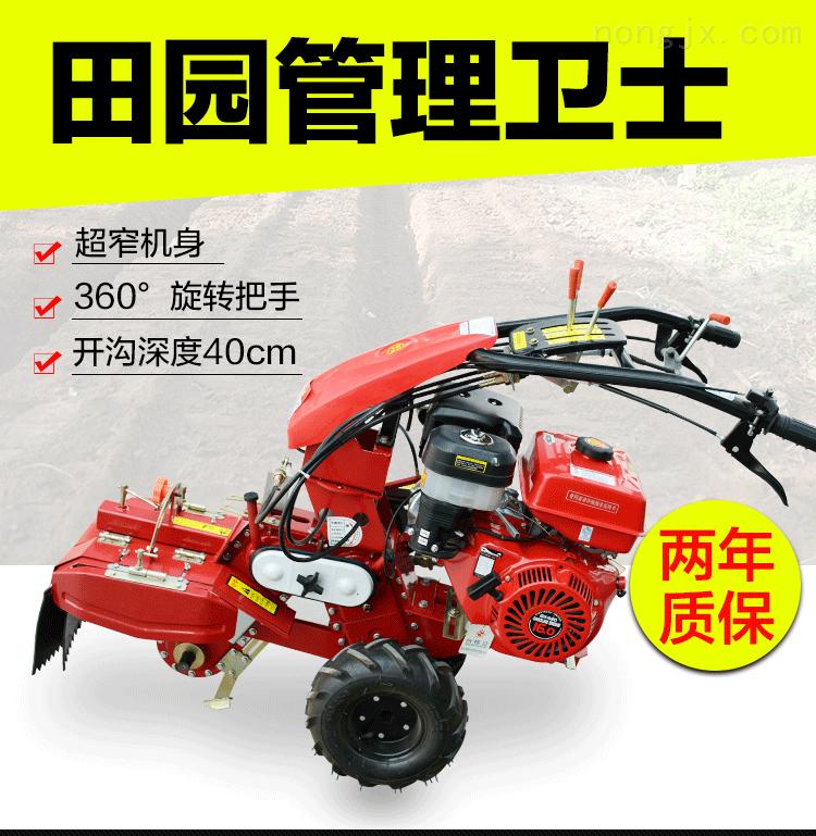 FX TY-新款大葱大姜土豆芋头开沟培土机 富兴高效灵活多功能田园管理机价格