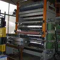 PVC地板革设备 PVC卷材地板生产线
