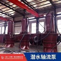 大功率轴流泵160KW-高压66V潜水泵