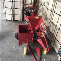 农用单行玉米小型收获机