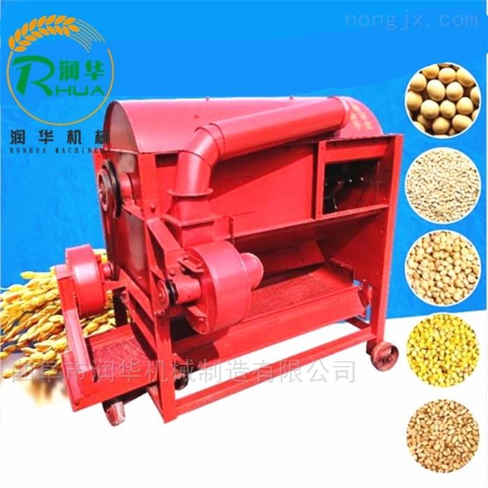 全自动稻麦脱粒机 柴油机谷子打粒机