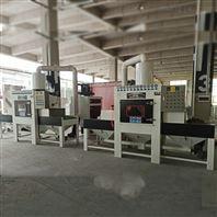 广州手机外壳氧化前处理去毛刺自动喷砂机