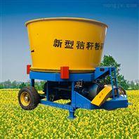 新型大产量圆盘式粉碎机 青贮草捆粉草机