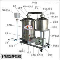 固液两用纯粮蒸酒机出酒率高