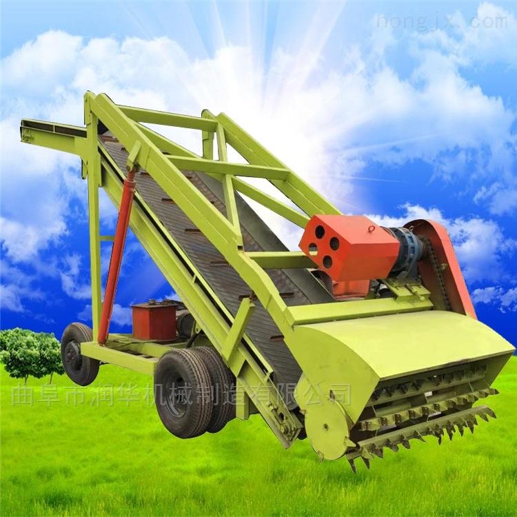 移动式高空牧草取料机 7米青贮池液压取草机
