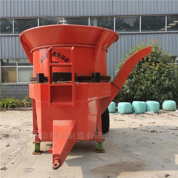 稻谷秸秆粉碎机 大型转盘式粉草机