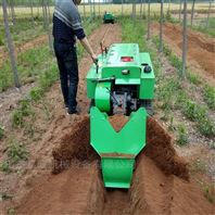 果园履带开沟施肥机 葡萄园旋耕机使用方便