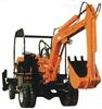 小型工程轮式液压挖掘机