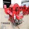 RF-TLJ-125新型风机式稻谷脱粒机 柴油版高粱打粒机
